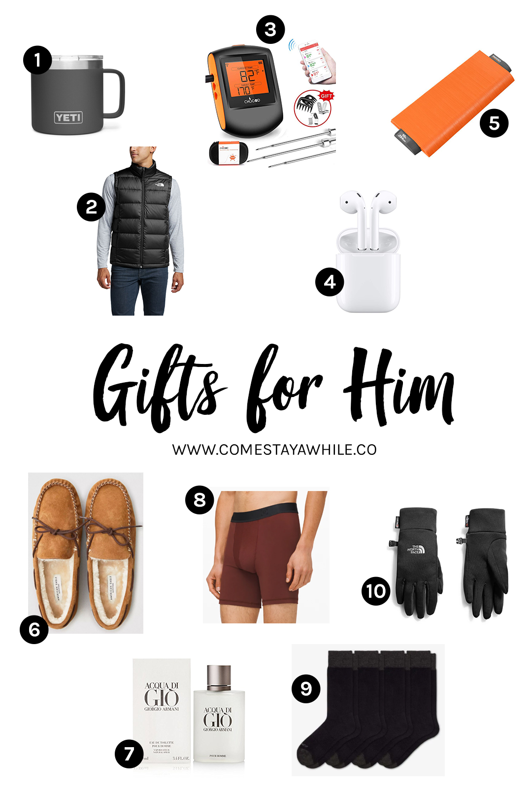 2019 Holiday Mens Gift Guide
